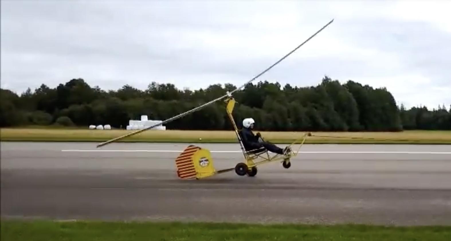 Lär dig flyga gyrokopter med gyroglider